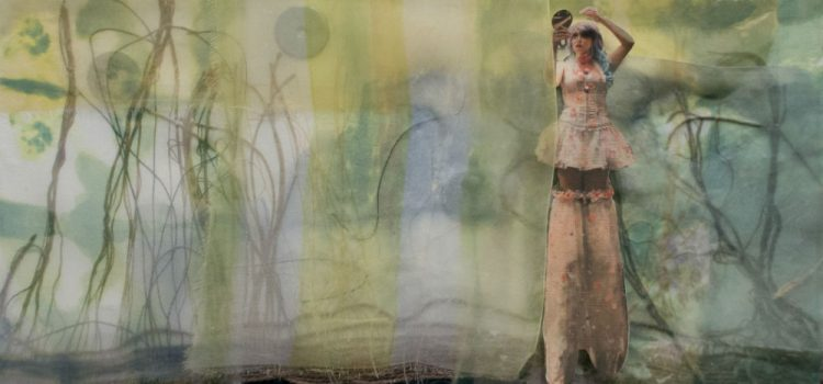 Dreamscapes by Cathy Jacobs: a solo exhibition of oil paintings and collages